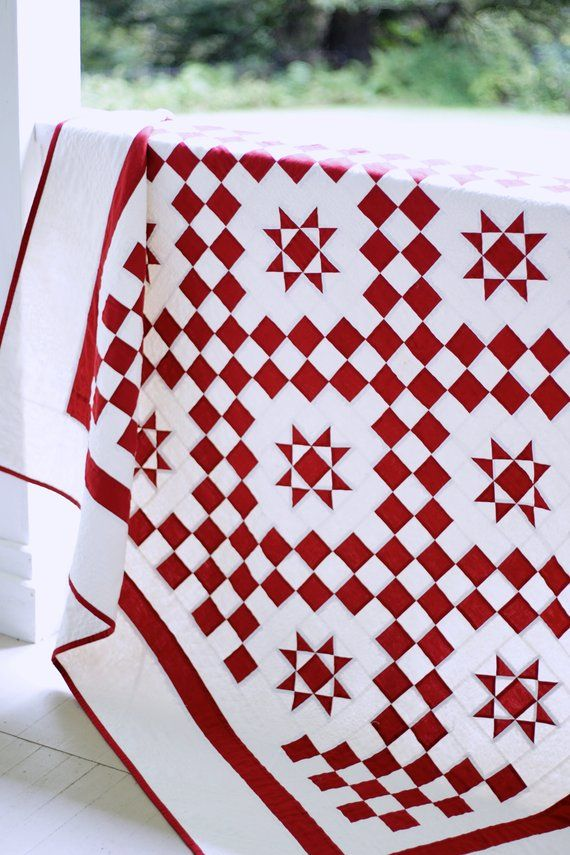 Quilt Patterns Pdf Christmas Quilt Pattern Red And White Quilt