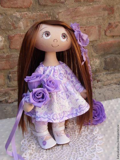 "Куколка ""Сиренька"". Handmade. ♡"