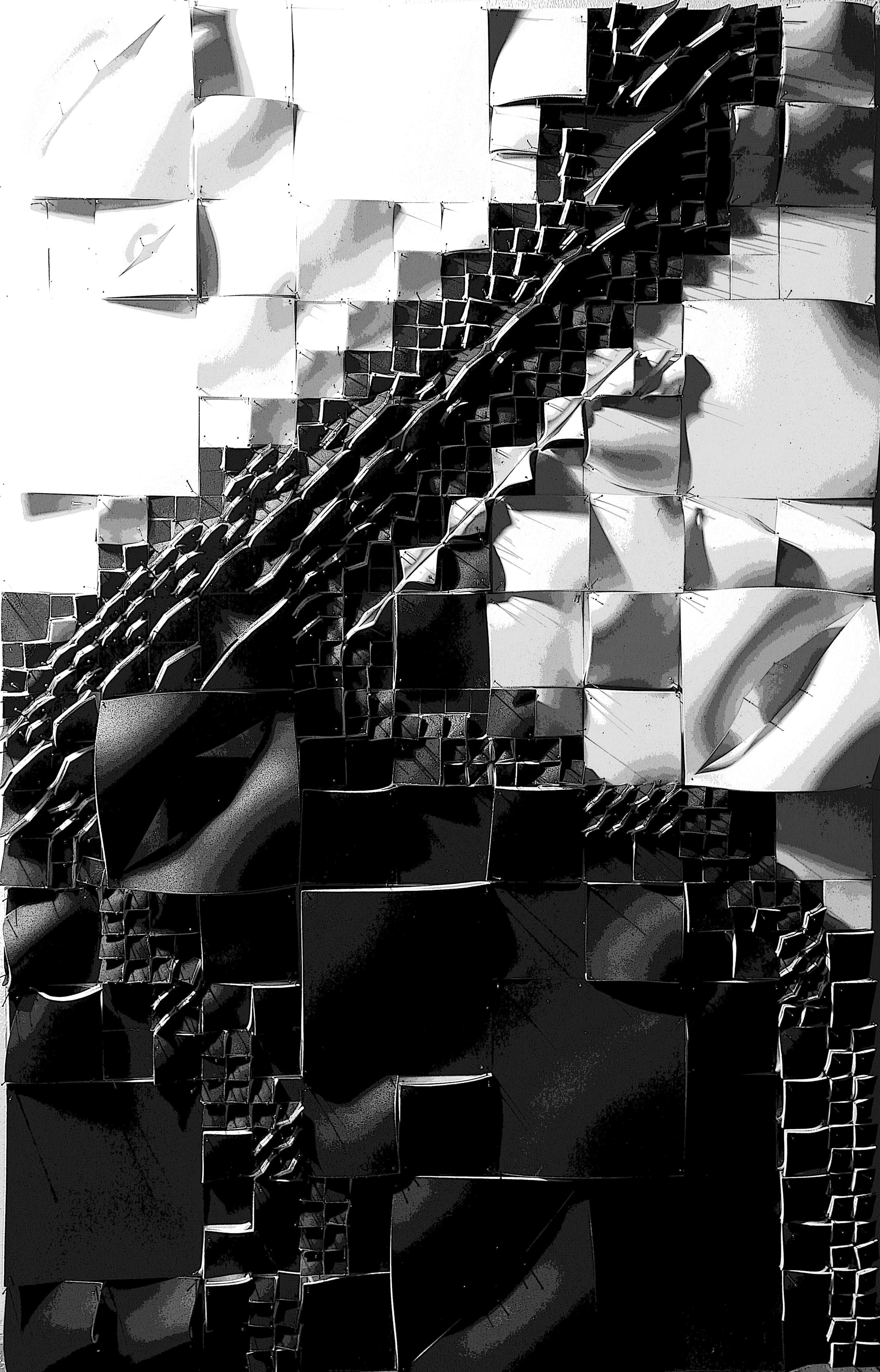monir karimi | shell form finding system | zaha hadid studio