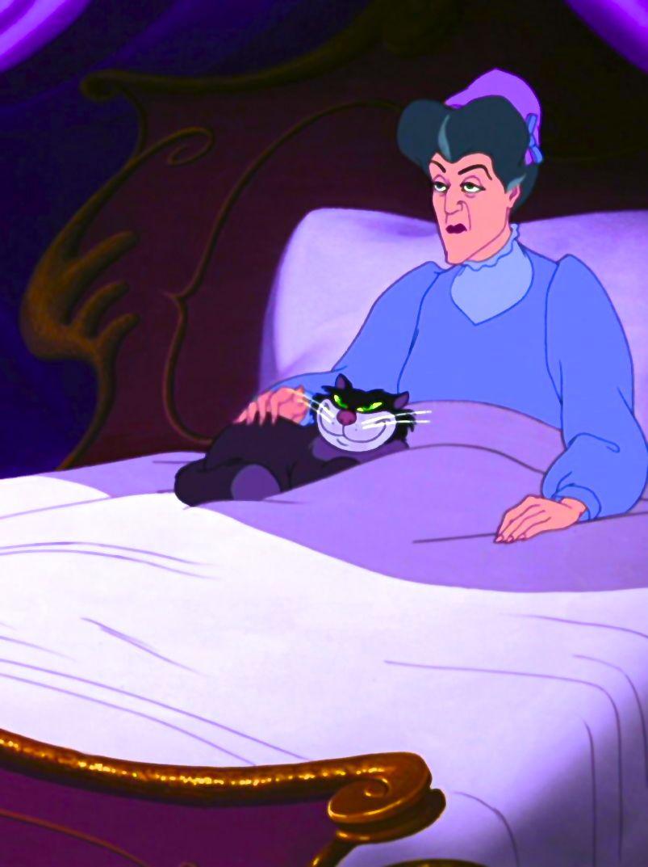Lady Tremaine & Lucifer | Disney Villains | Cinderella | Villanos ...