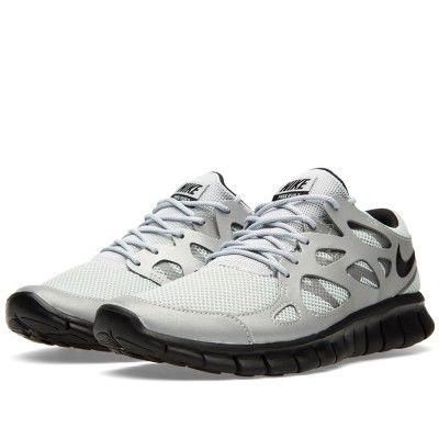 Nike Free Run 2 (Metallic Silver & Black)