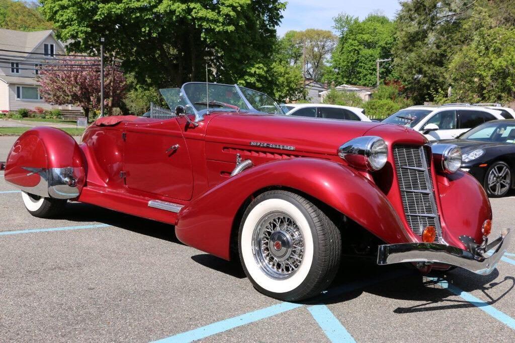 1936 auburn boattail speedster classics by teri in