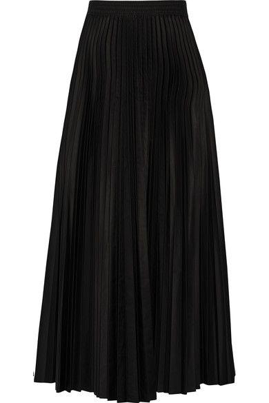 033e1b254 THEORY Dorothea pleated shell midi skirt. #theory #cloth #skirts ...