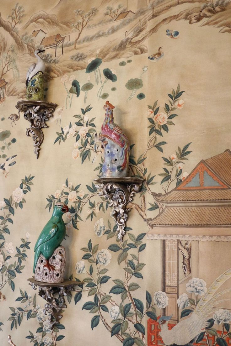 爱 Chinoiserie? Mais Qui! 爱 home decor in Chinese