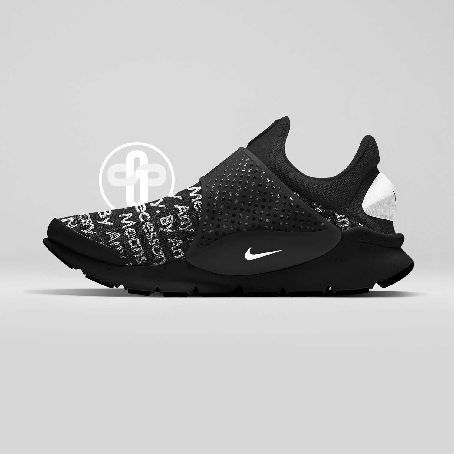 Supreme x Nike Sock Dart Black