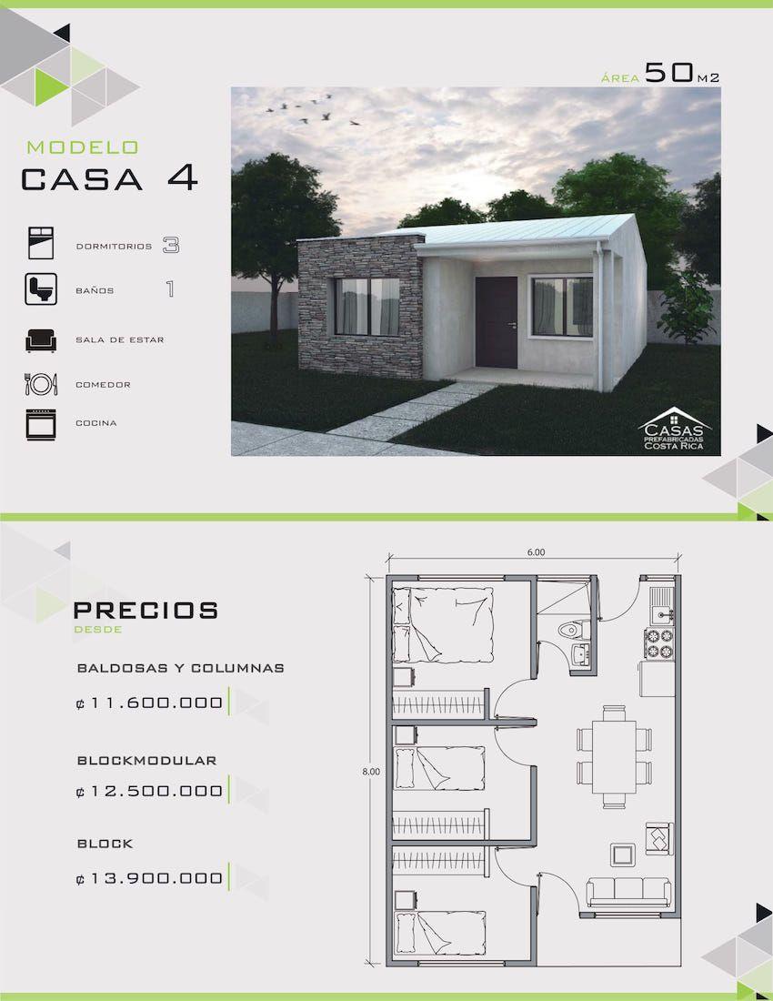 Modelos y dise os de casas de un piso costa rica casas y for Modelos de planos de casas