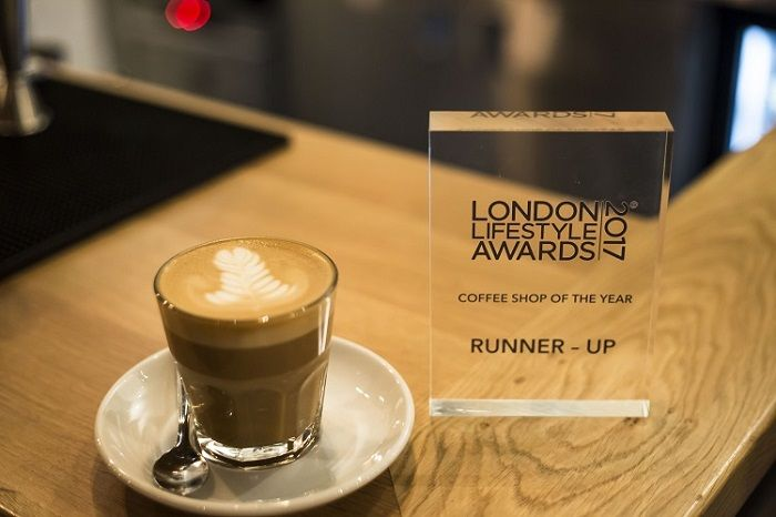Notes - 'Coffee Shop of the Year' runner-up award