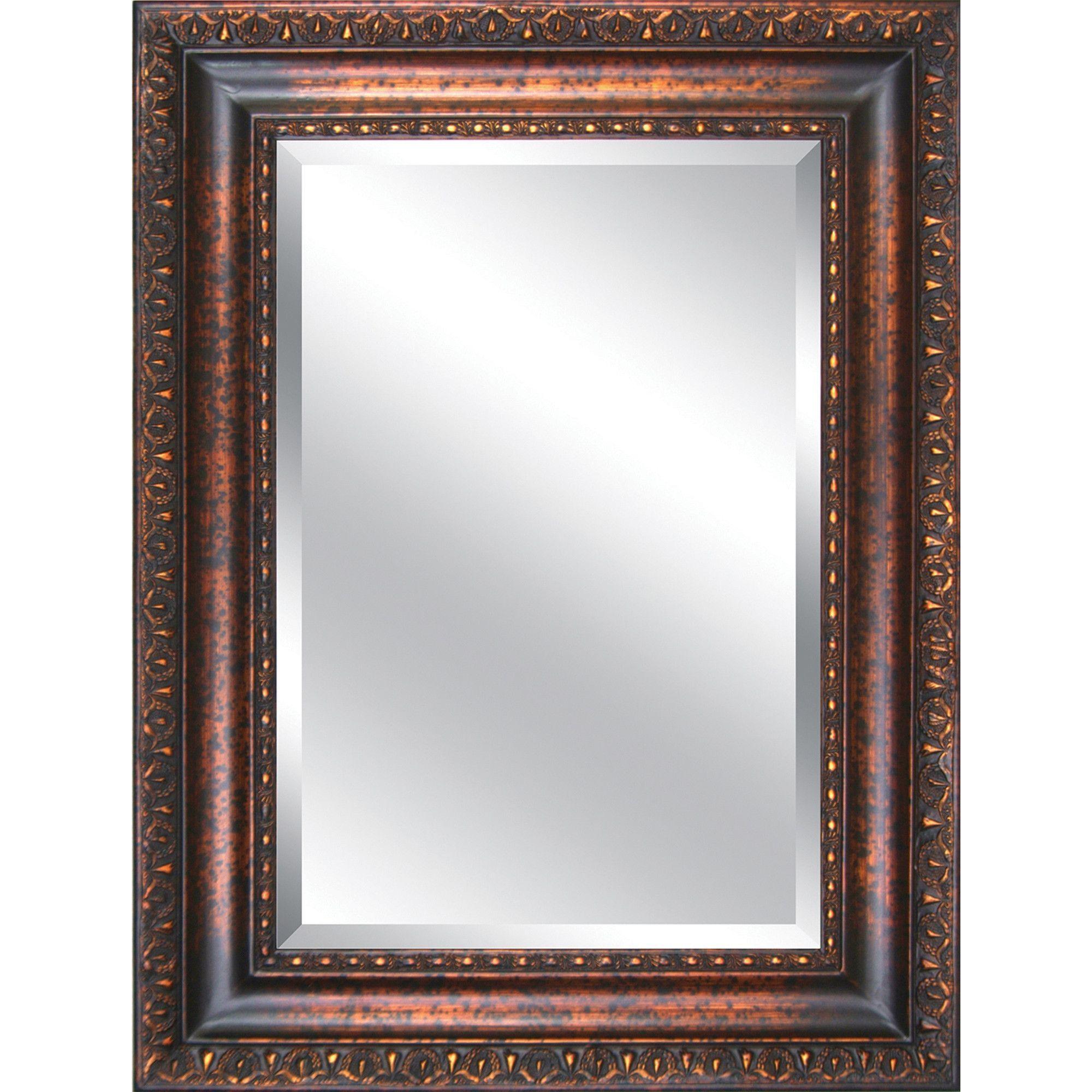 Antique Framed Mirror   Bathrooms   Pinterest