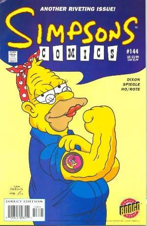 Simpsons comic 144 simpsons comics 144 back issues bongo backissues simpsons - Bande dessinee simpson ...