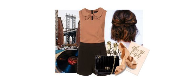 """""""♫ Can we sing so loud and raucous They can hear us across the bridge in East Secaucus? ♫"""" by chiarastella ❤ liked on Polyvore featuring Lanvin, Lillybee and Oscar de la Renta"""