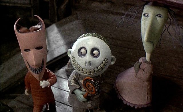 Nightmare Before Christmas- My two friends and I are being Lock Shock and Barrel for our school Halloween party. The party is tomorrow time to panic and ... & Lock Shock and Barrel | Barrels Tim burton and Halloween town