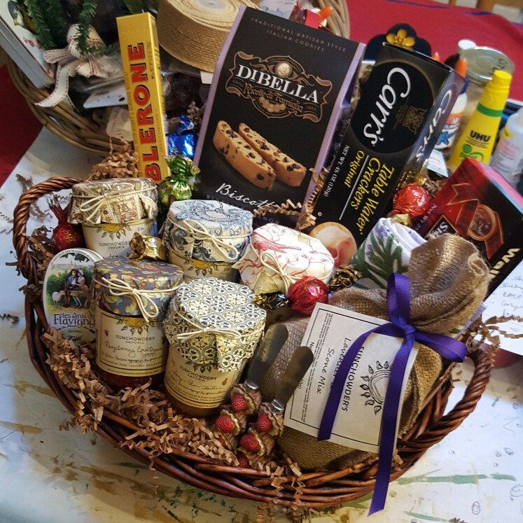 Customgift baskets going out the door ask us how we can