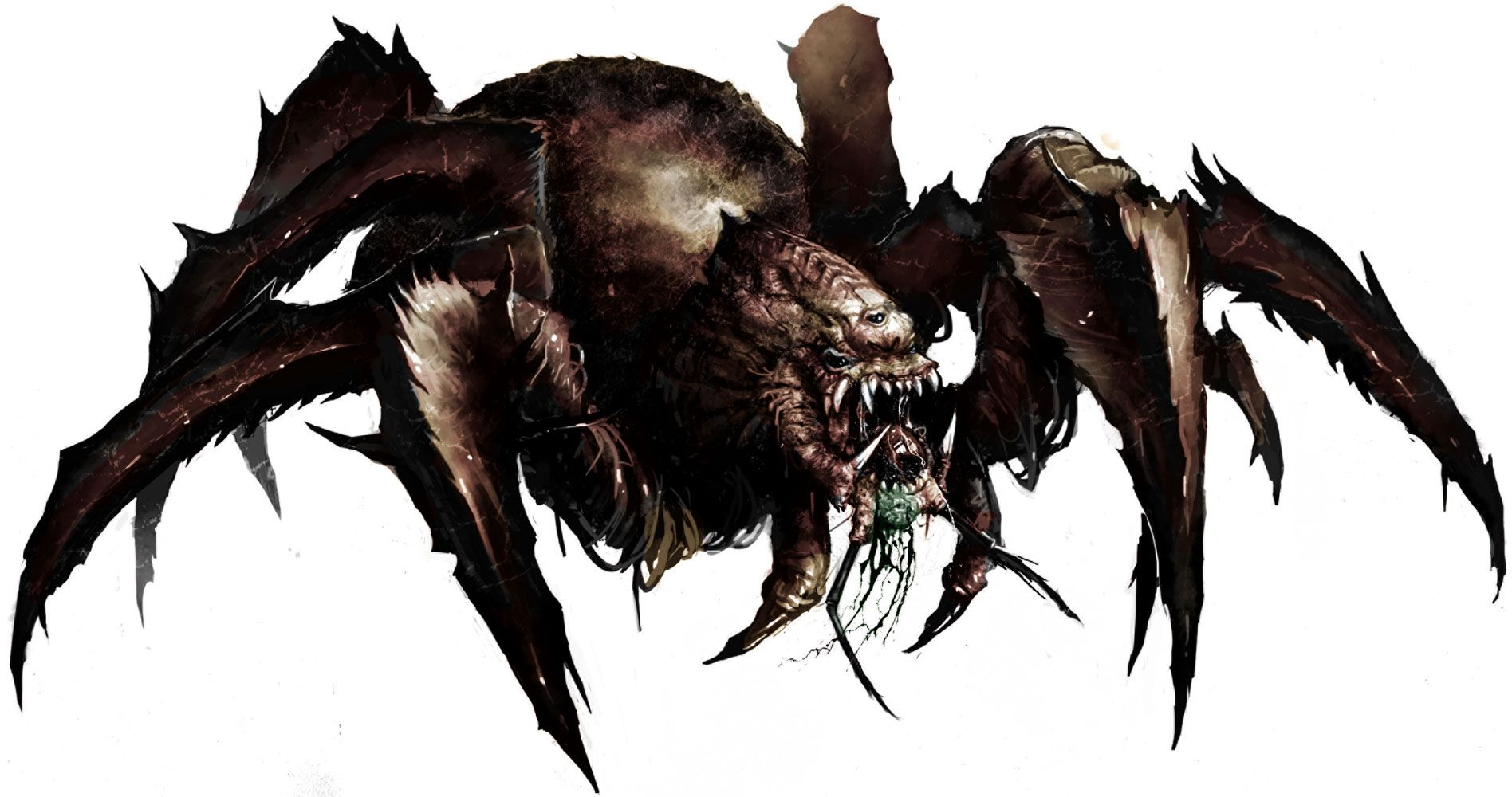 pathfinder giant spider - Google Search