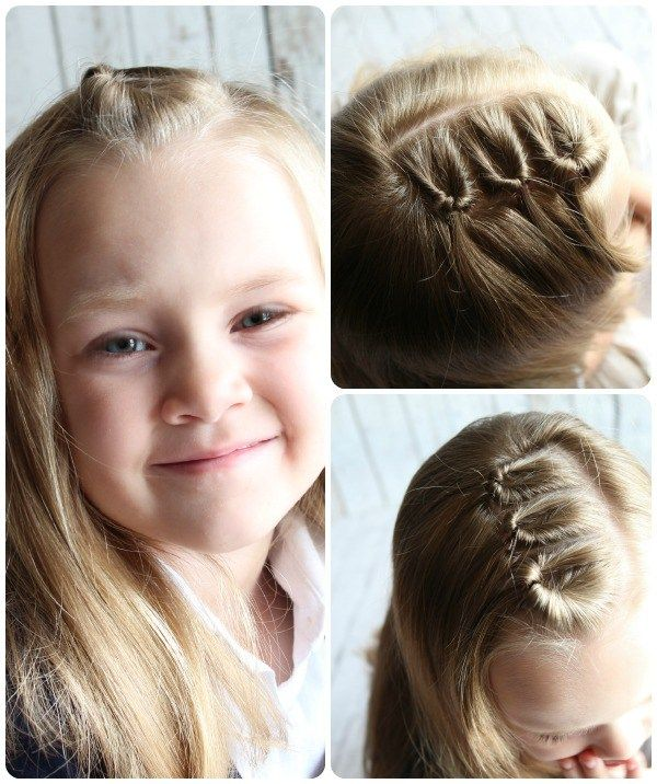 10 Easy Hairstyles for Girls | Little girl hairstyles, Easy ...