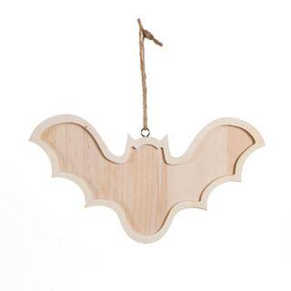 Bat Ornaments Unfinished