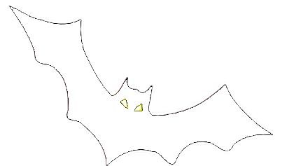 Halloween Ausmalbilder Fledermaus 09 Coloring Pages Halloween