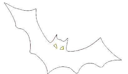 Ausmalbilder Fledermaus Halloween - tiffanylovesbooks