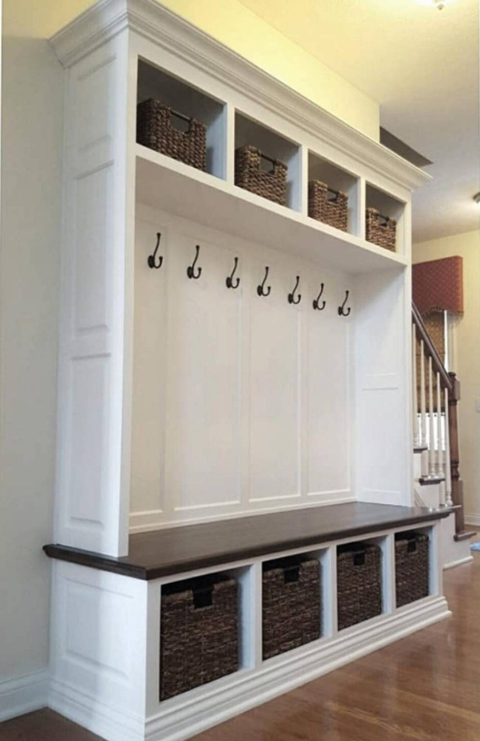 The Dublin Mudroom Lockers Bench Storage Furniture Cubbies Etsy
