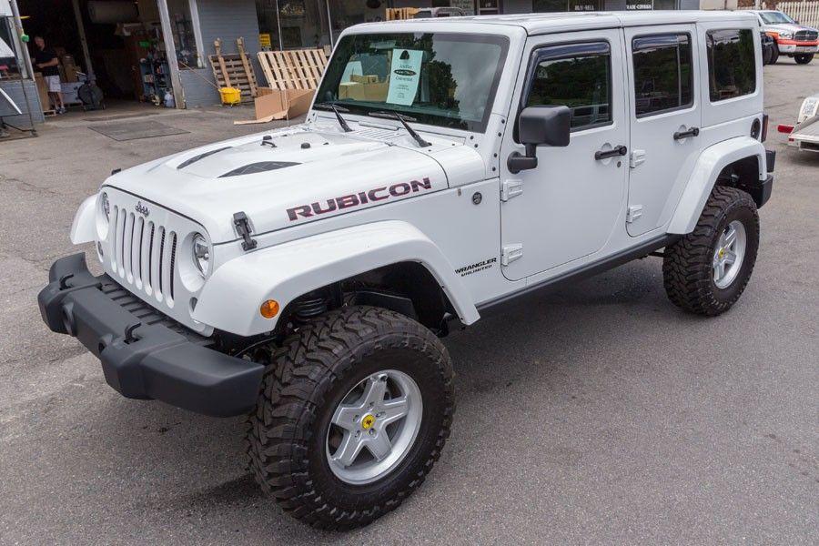 2014 Jeep Rubicon Unlimited White Jeep rubicon, 2014