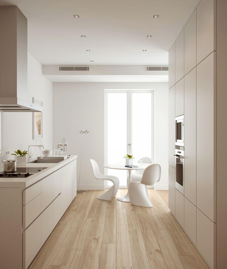 Extravagant A White Kitchen Presenting