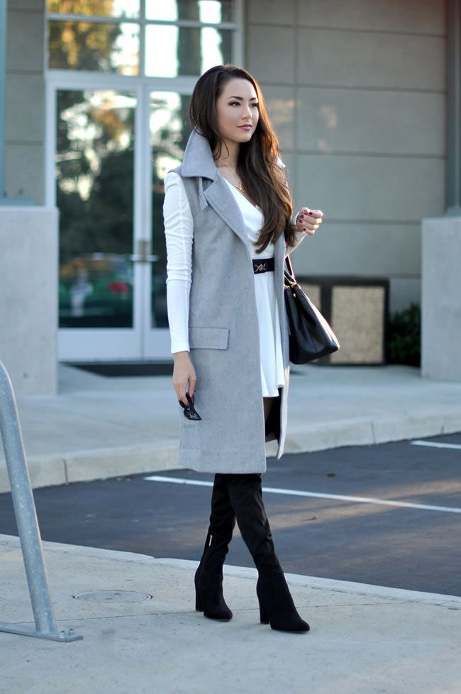 42c048adc856fa How To Style A Sleevess coat - DesignerzCentral