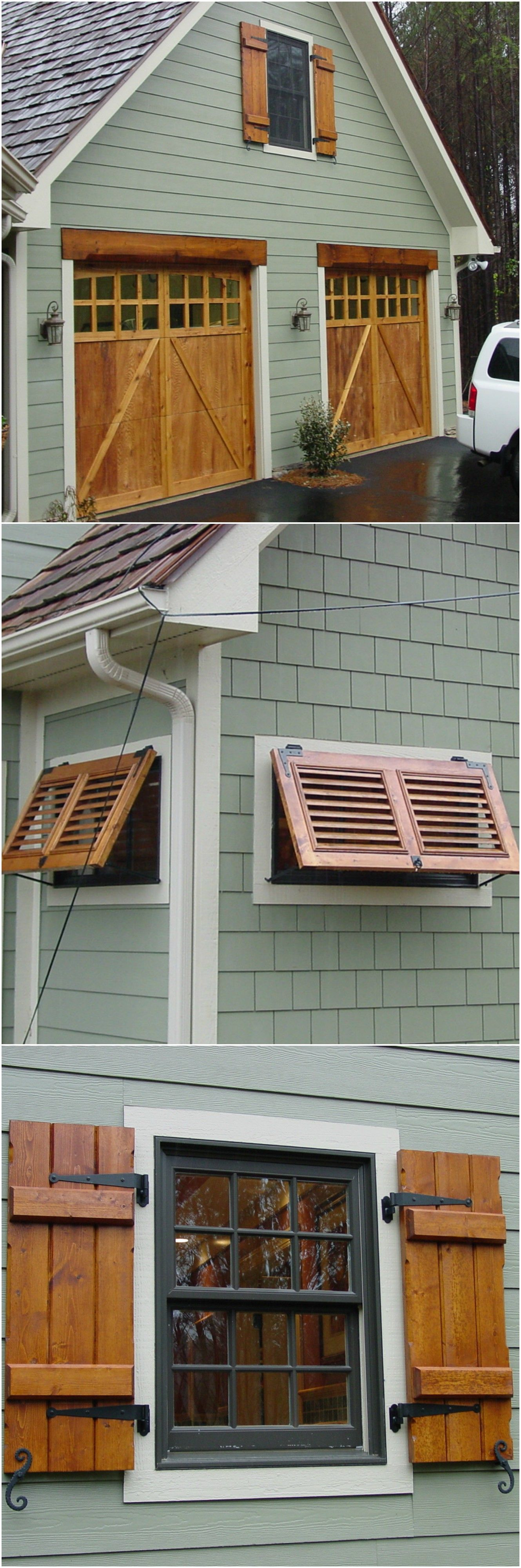 Barnwood board-and-batten shutters- (easy to make from any wood especially  if it is going to be painted) | For the Home | Pinterest | Batten, Cedar  wood and ...
