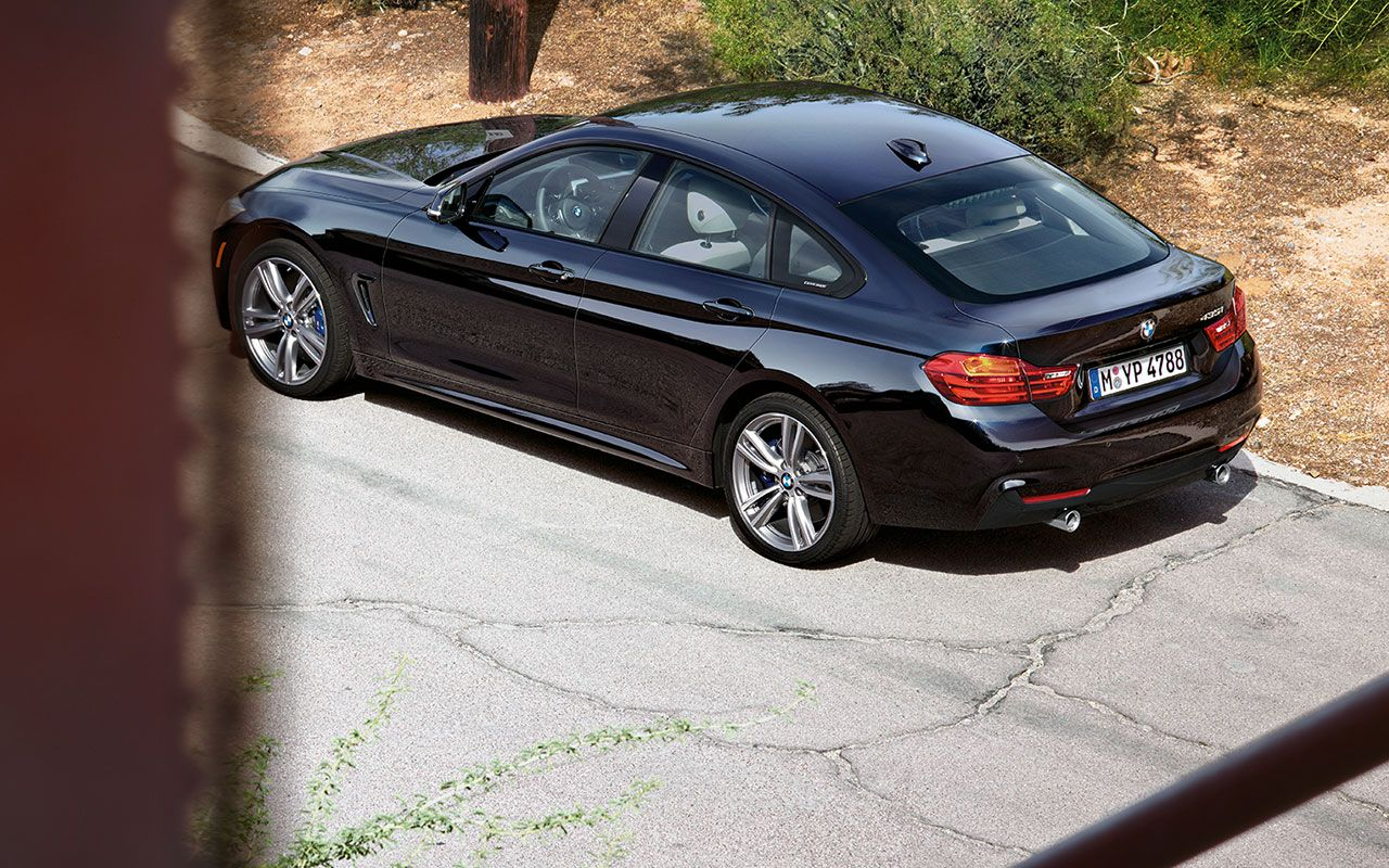 The Bmw 435i Gran Coupe In Carbon Black Metallic With M Light