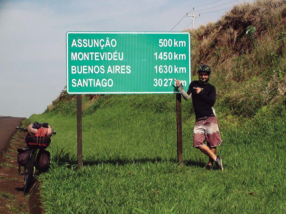 De México a la Argentina, madre e hijo en bicicleta «