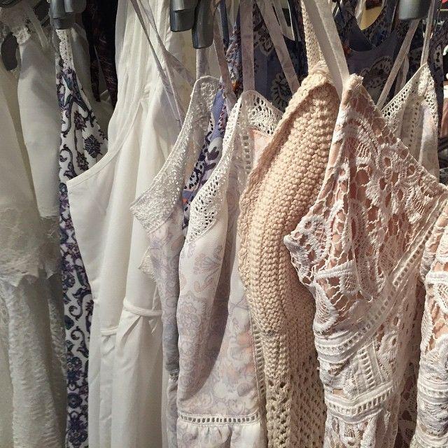 Sundresses + rompers at @pacsun #crochet #lace #floralprint #white #summer #dress #kandkforpacsun #Pixxy