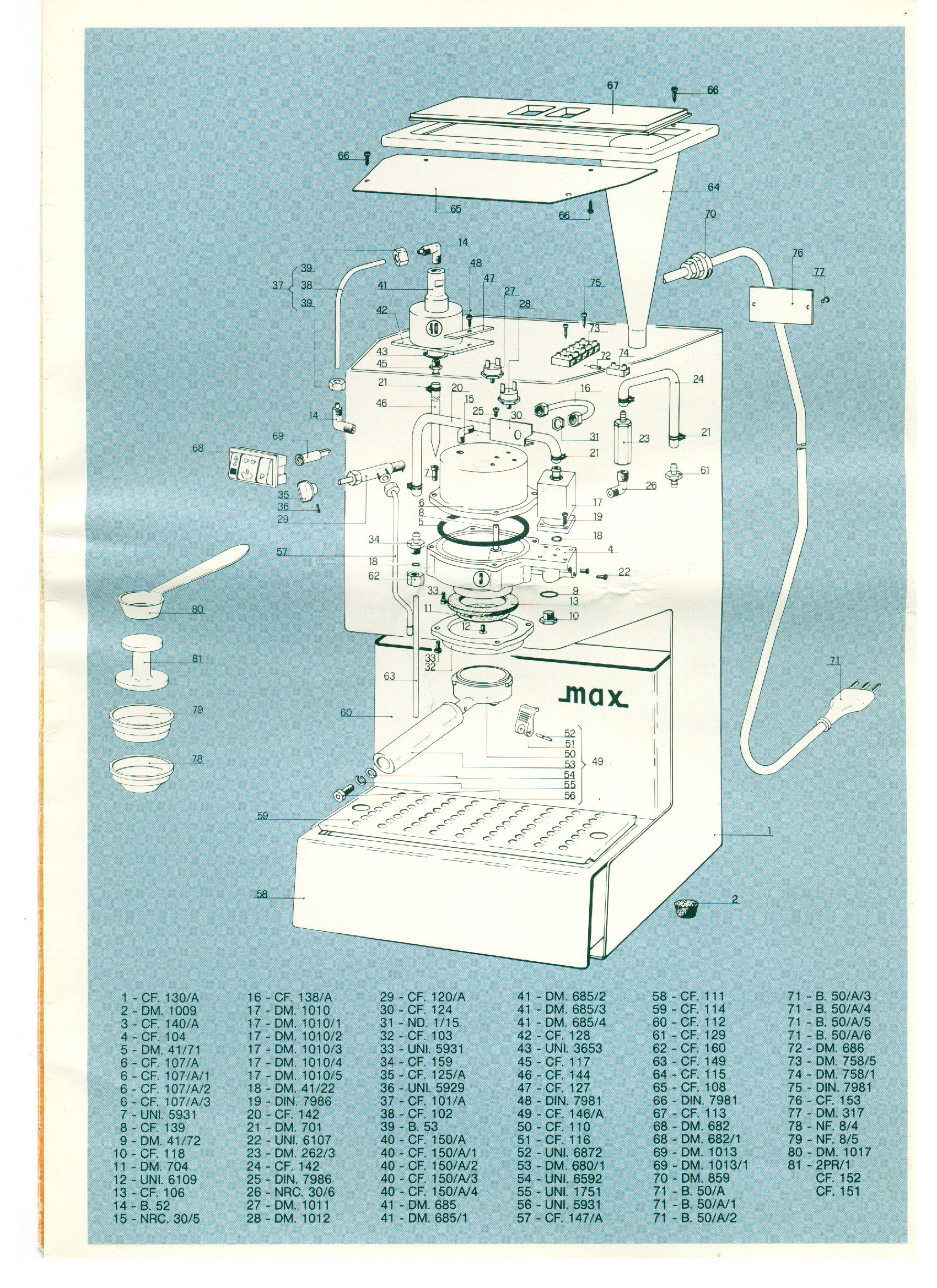 A super sweet, totally has to be rare parts diagram i found of the ...