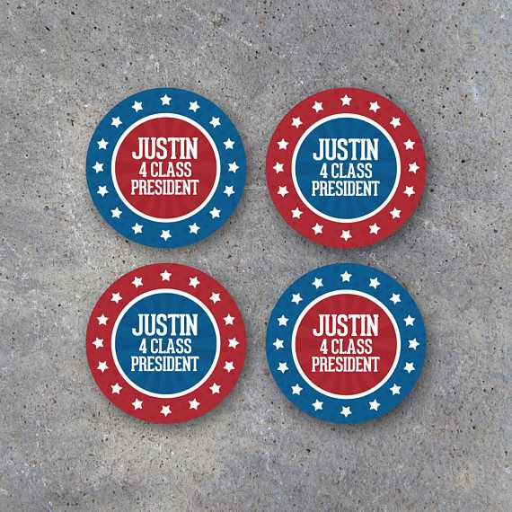 Election Campaign Tags – Printable 2.5