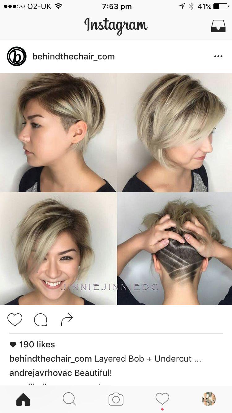 Just the design hair pinterest undercut haircuts and short hair