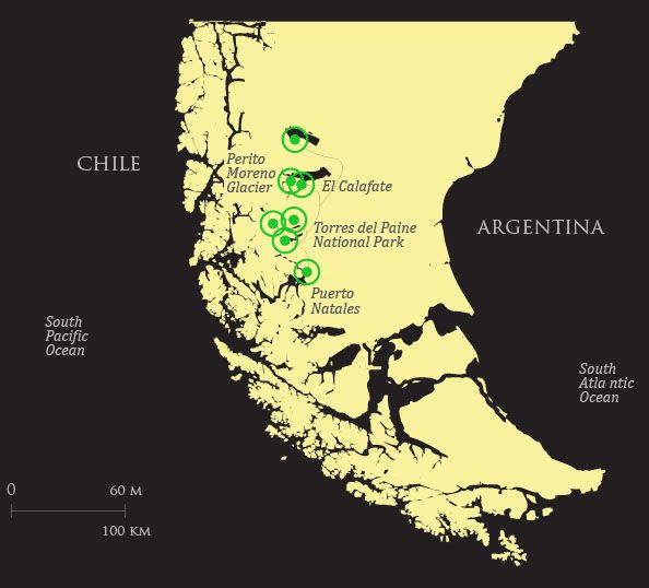 Wondering About Patagonia South America Quasar Has The: Map Of South America Patagonia At Codeve.org