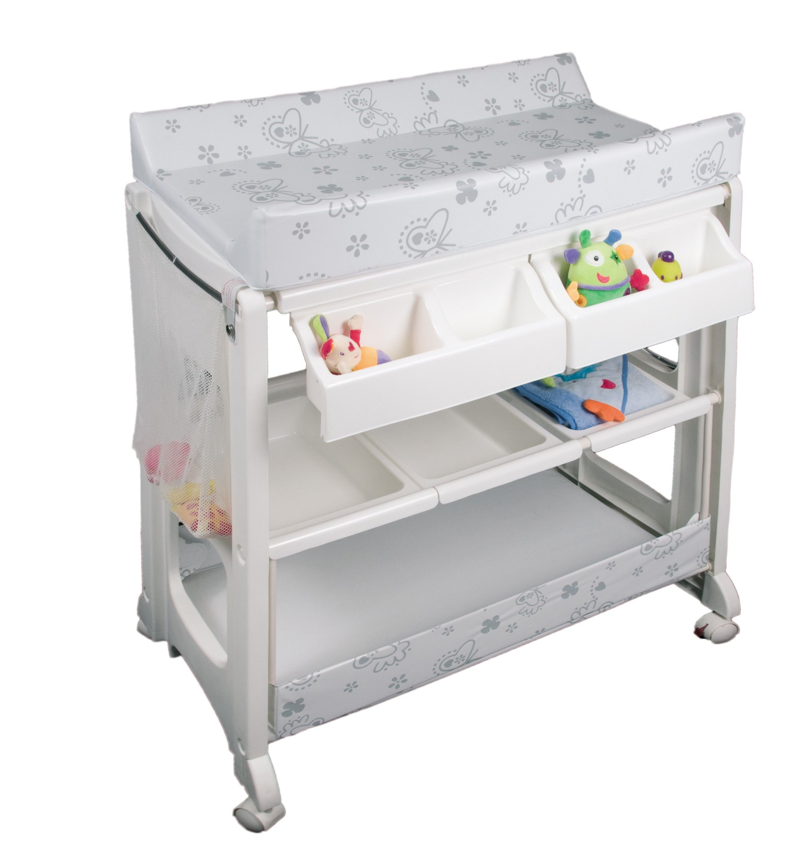 Table A Langer Baignoire Bebe Confort Cela Va Egayer Votre Matin Table Furniture Changing Table