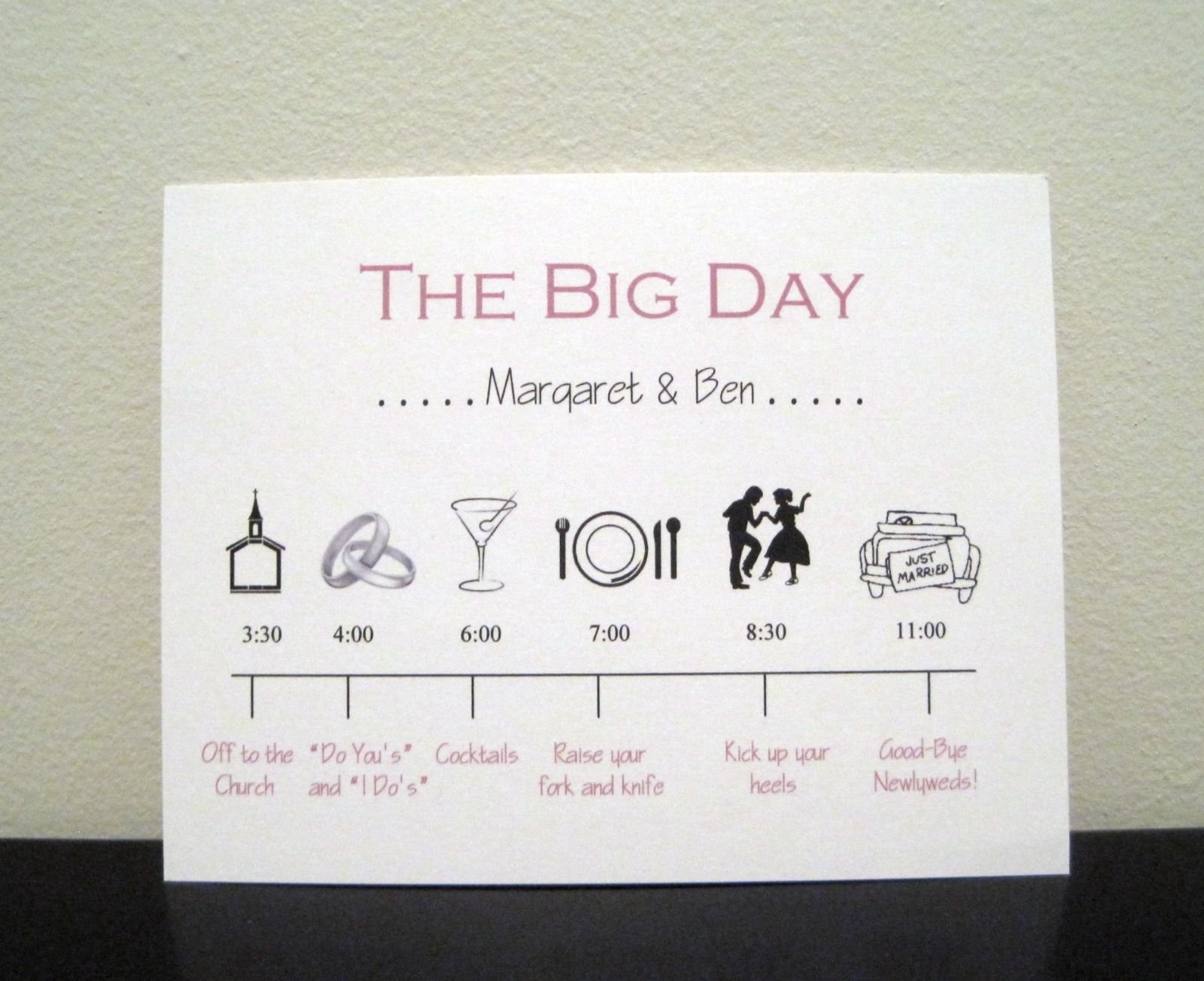 love this as the insert, even more. cute wording :) | w - six, Wedding invitations