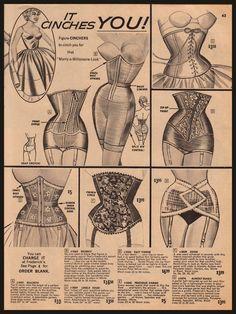 50s waist cincher - Google Search