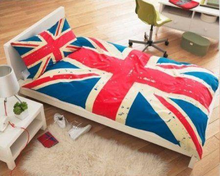 http://www.amazon.com/Union-Jack-Single-Duvet-set/dp/B00408MVWS/ref=sr_1_4?s=home-garden=UTF8=1364406514=1-4=british+flag+comforter