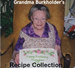 Grandma Burkholder Logo