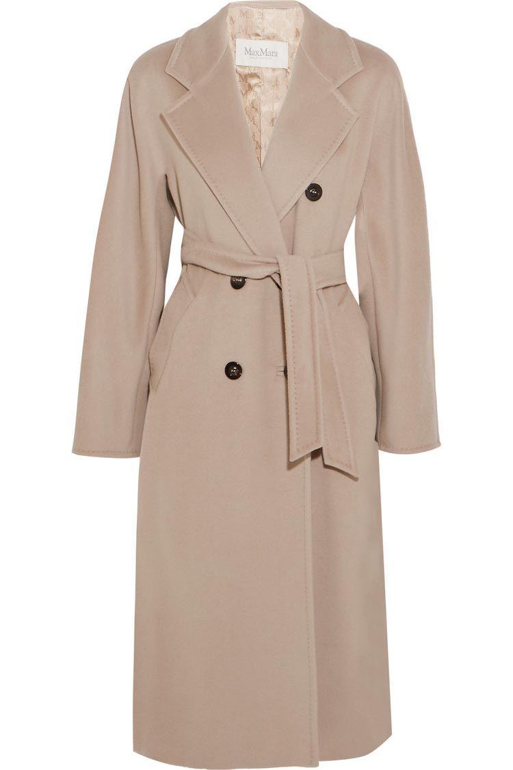 7cdfac68226 классическое двубортное пальто Max Mara