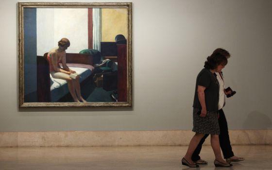 Hopper El pintor que congeló el vacío de la vida urbana   Cultura   EL PAÍS