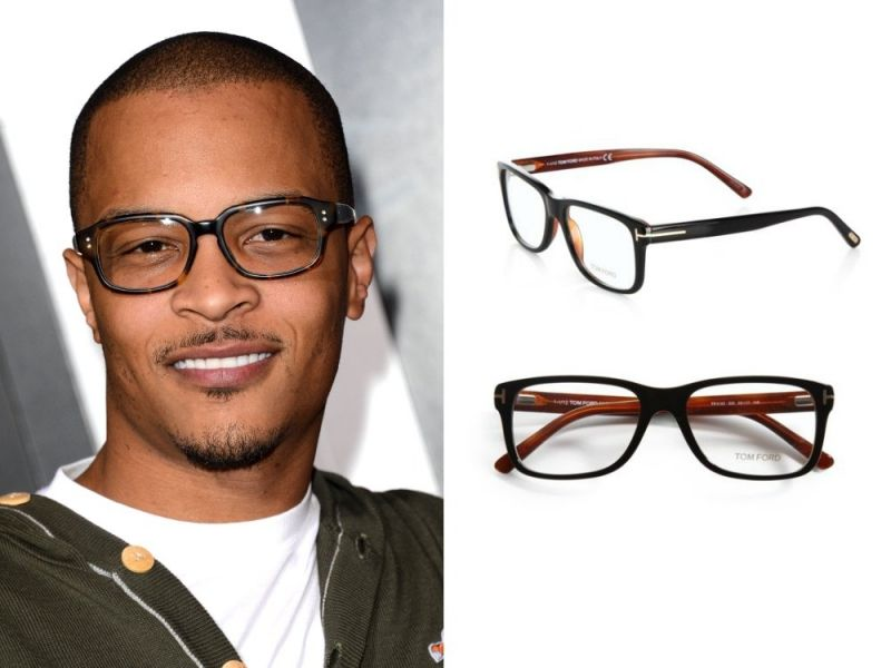 large framed glasses on men Buy it: Tom Ford Eyewear ...