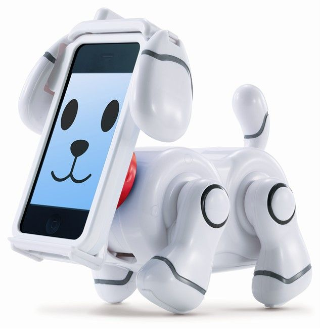 This robotic dog was created by Bandai (the makers of