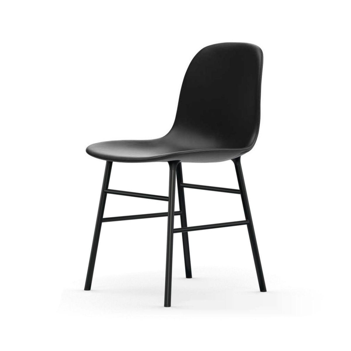 Verzauberkunst Stuhl Gepolstert Sammlung Von Normann Form Black Leder-gepolstert Tango Jetzt Bestellen