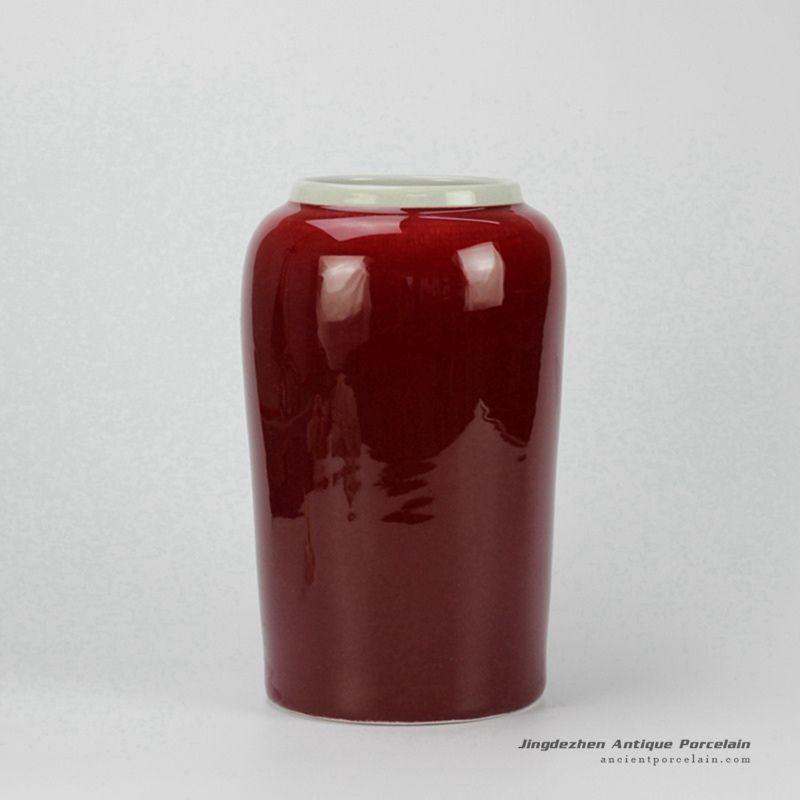 Oxbloodglazed Modern Red Vase Ancient Porcelain Pinterest Red