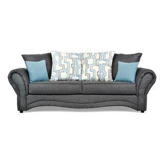 Admirable Marana Two Piece Sofa And Loveseat Set White Silver Lake Lamtechconsult Wood Chair Design Ideas Lamtechconsultcom