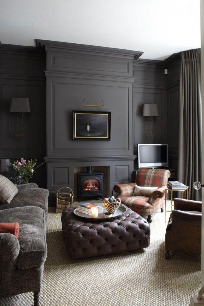 Bringing Wall To Wall Carpet Back Dark Living Rooms Interior Home