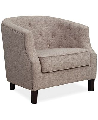 Penelope Fabric Accent Chair Quick Ship Accent Chairs