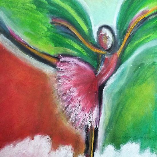 Dance on, Angel (Fine Art)