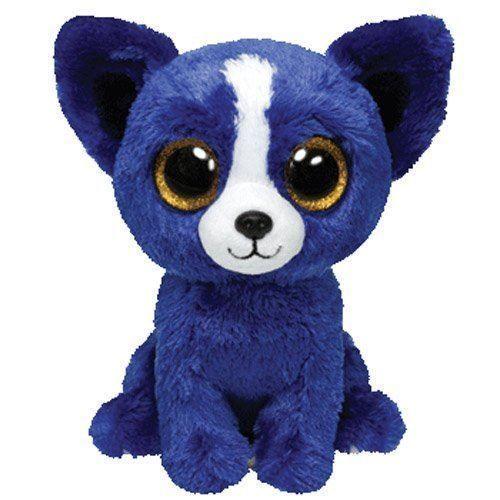 Ty beanie boos t bone chihuahua chien bleu toutous et bleu marin - Jeux de toutou a gros yeux ...