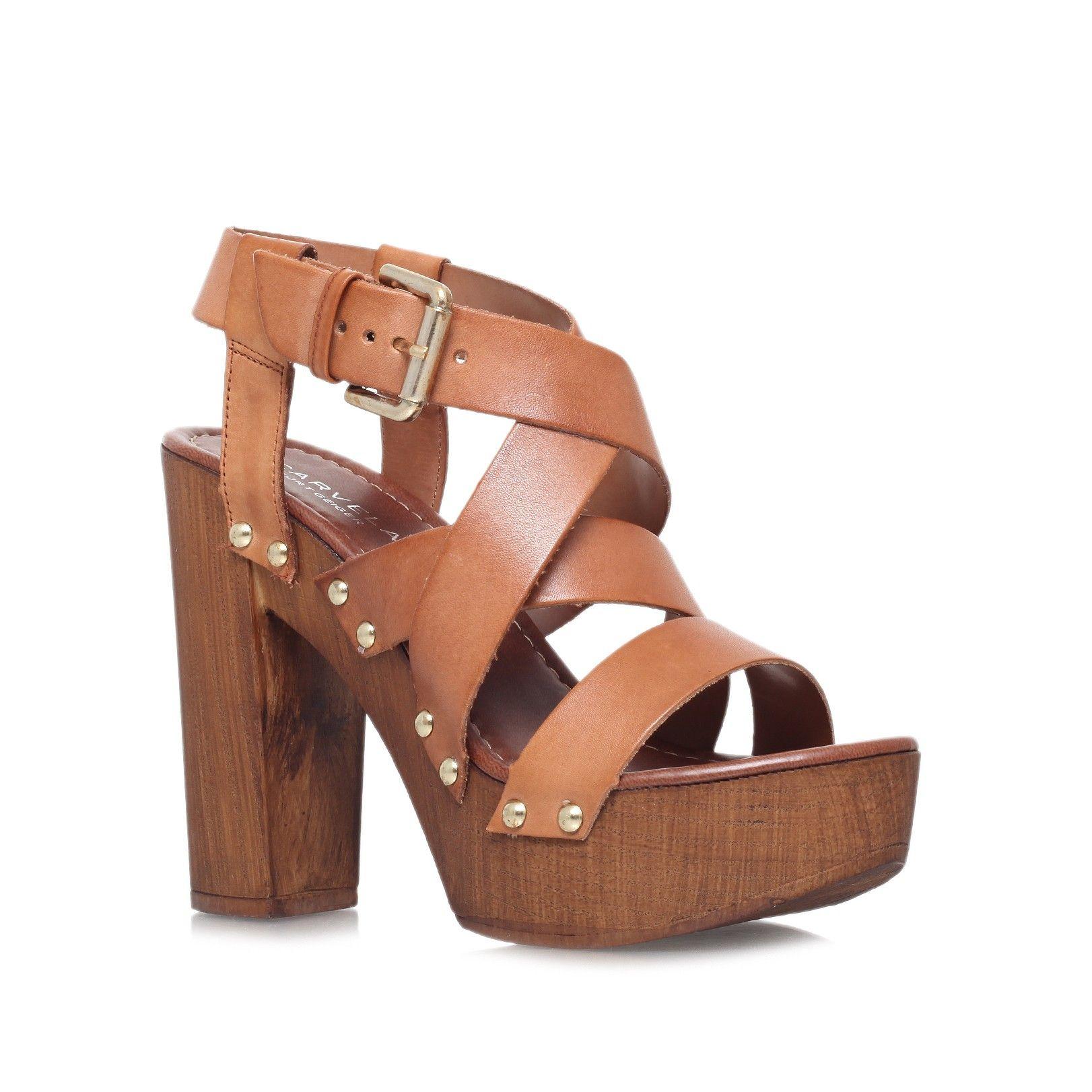 kookie tan high heel sandals from Carvela Kurt Geiger